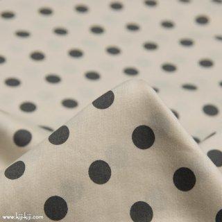 【cotton】French shabby dot|フレンチシャビードット|80サテンタンブラー|スモークベージュ|