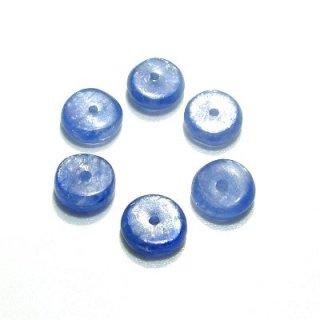 カイヤナイト (AA+) ボタン6X2.5〜3mm 【1個】 《前に踏み出す勇気を与える石》