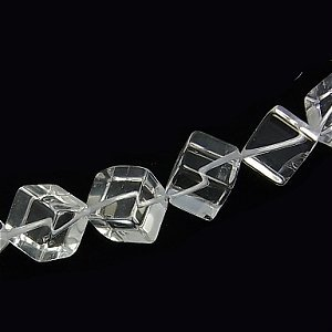 天然水晶(AAA)ダイス 対角約6mm【4個】