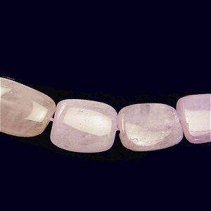 クンツァイト(AA++) 大粒フラットタンブル 14-20X11X5-7mm 【1個】 《心を満たし安らぎを与える石》