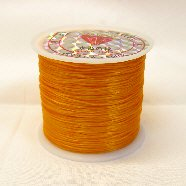 オペロンゴム(水晶の線)54m巻 オレンジ