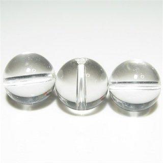 天然クォーツ (AAA) 本水晶 ラウンド12mm 【1個】