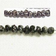 ブラック ダイヤモンド (AAA) 平均2X2-1.5mm 天然ダイヤ 【1個】