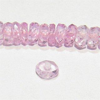 《宝石質》非加熱ピンクサファイア (AAA) ボタンカット 2-3mm 【1個】