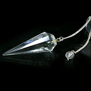 ヒマラヤ水晶 ペンデュラム(カット入り)