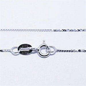 Silver925製ネックレスチェーン(#SL2)40cm