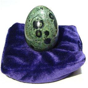 原石加工品 パワーストーン卵形 (エッグ) カンババジャスパー