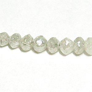 《宝石質》ライトグレー ダイヤモンド(AAA) 平均1.5-2X1-1.5mm 天然ダイヤ 【1個】