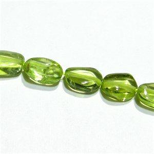 《宝石質》 ペリドット (AA++) オーバル4-6X3-4mm 【1個】 《前向きに生きられるようサポートする石》