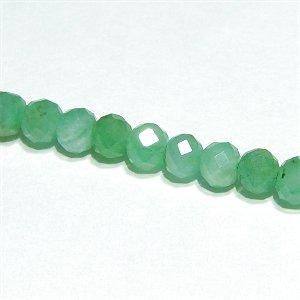 《宝石質》 エメラルド (AA++) ボタンカット2.5X2mm 【2個】 《自然治癒力・幸福感を高める石》