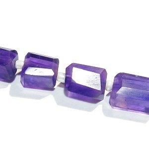 《宝石質》 アメジスト (AAA)タンブルカット8-12X5-8X4-6mm 【1個】 《周囲に流されない心を育てる石》
