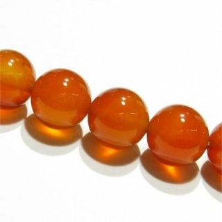 カーネリアン (AAA)オレンジ ラウンド10mm  【1個】 《チャレンジ精神を高める石》