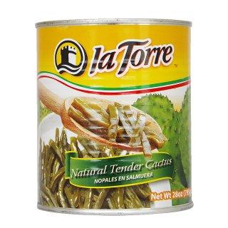 サボテンの塩漬け(ノパリートス)795g|メキシコ料理食材