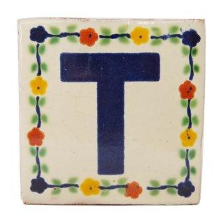 メキシカンタイル - アルファベット(T)