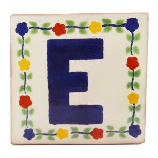 メキシカンタイル - アルファベット(E)