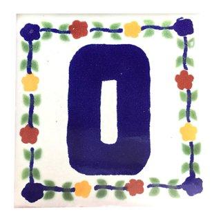 メキシカンタイル - アルファベット(O)