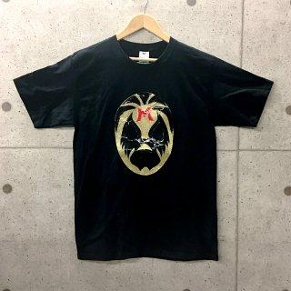 ルチャ・リブレTシャツ ゴールドマスク|メキシコTシャツ