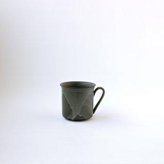 3RD CERAMICS_黒泥カップ