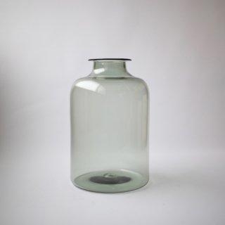 qualia-glass works_Bottle(smoke)