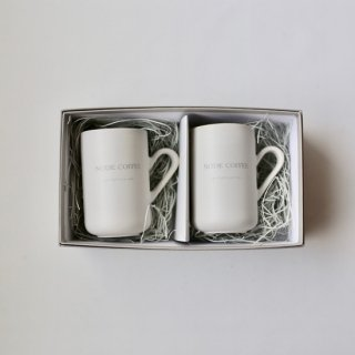 NODE COFFEE_Mug cup(2個set : ギフトBOX入リ)