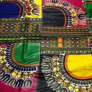 ワックスプリント アフリカ布 布 ハンドメイド パーニュ キテンゲ アフリカンバティック アフリカンプリント布