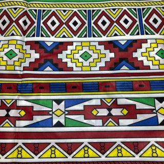 ポリエステル素材 アフリカ布 布 ハンドメイド パーニュ キテンゲ アフリカンバティック アフリカンプリント布