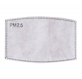 PM2.5 フィルター5枚セット マスク用フィルター