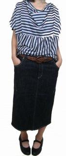 後裾スリット開きスカート「ストレッチ」(SK-0027)