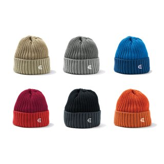 COTTON 2TONE KNIT CAP / 6 Colors