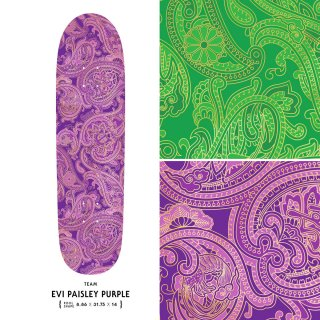 EVI PAISLEY PURPLE / POOL SHAPE
