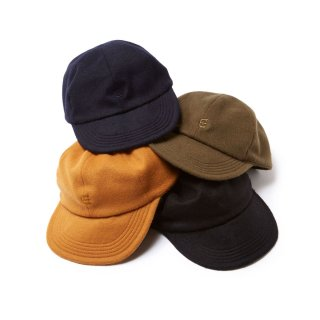 E LOGO WOOL CAP