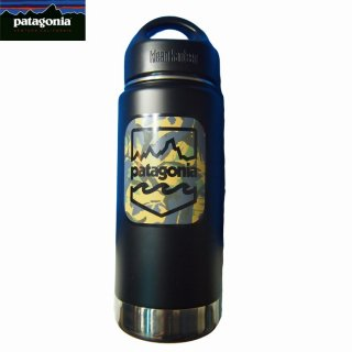 カンティーン Patagonia/パタゴニア  Klean Kanteen Camo badge 16oz(473ml)