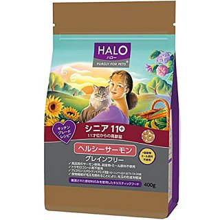HALO シニア11+ヘルシーサーモン 400g, 1.6kg