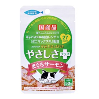 たまの伝説 やさしさプラス まぐろサーモン パウチ/缶