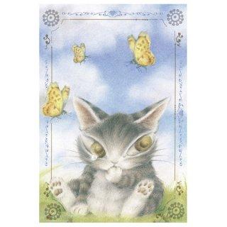 わちふぃーるど 猫のダヤン BABYダヤンポストカード 迷子