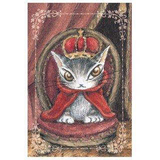 わちふぃーるど 猫のダヤン BABYダヤンポストカード クラウン