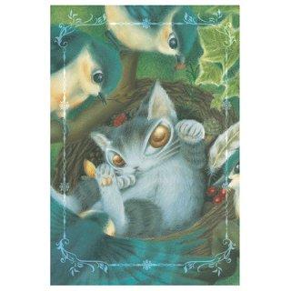 わちふぃーるど 猫のダヤン BABYダヤンポストカード 幸運のタネ
