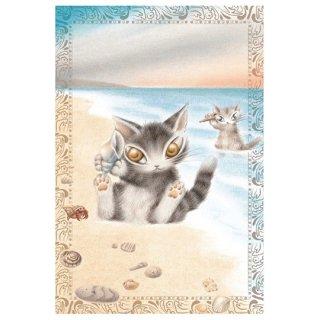 わちふぃーるど 猫のダヤン BABYダヤンポストカード 海の音楽