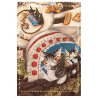 わちふぃーるど 猫のダヤン BABYダヤンポストカード お菓子