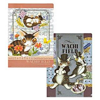 わちふぃーるど 猫のダヤン クリアファイルセット#35 さわってダヤン/シルクハット