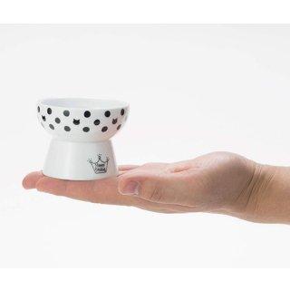 猫壱 ハッピーダイニング おやつ皿 水玉