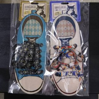 わちふぃーるど 猫のダヤン 靴ヒモ 2タイプ