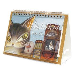【アウトレット】わちふぃーるど 猫のダヤン ポップアップデスクオン2019