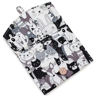 猫柄 ポケットティッシュケース 袋付き 2タイプ