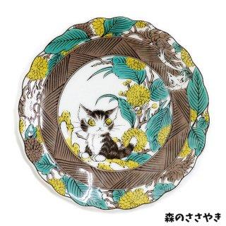 わちふぃーるど 猫のダヤン 九谷焼皿 2タイプ