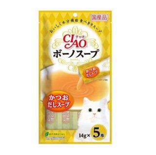 CIAO チャオ ボーノスープ かつおだしスープ 17g×5本~