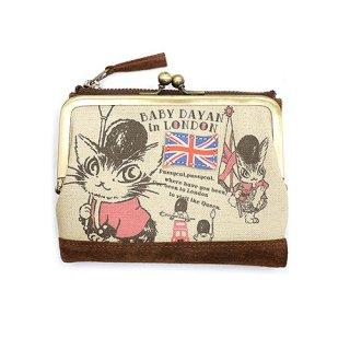 わちふぃーるど 猫のダヤン ロンドン�がま財布