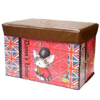 わちふぃーるど 猫のダヤン ストレージボックス ロンドン�