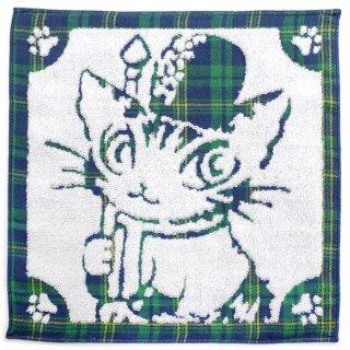 わちふぃーるど 猫のダヤン パイルガーゼW/T ロンドン�・紺系CK