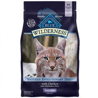 ブルー ウィルダネス  シニア猫用チキン 0.91kg